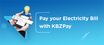 Pay your Electricity Bill with KBZPay