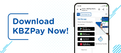 Download KBZPay Now!